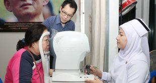 โรงพยาบาลสุไหงโก-ลก ร่วมบรรยาย เรื่องสุขภาพตา ในวันต้อหินโลก
